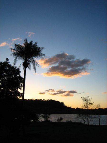 Sonnenuntergang im Parque Provincial