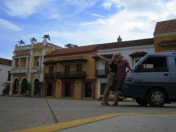 Auch Pauli durfte in die Altstadt!