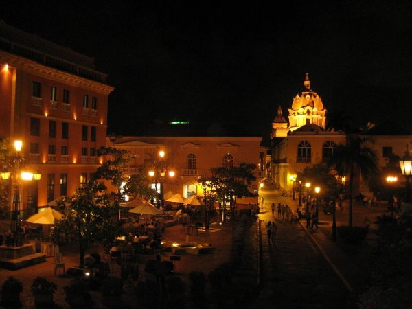 Cartagena bei Nacht!