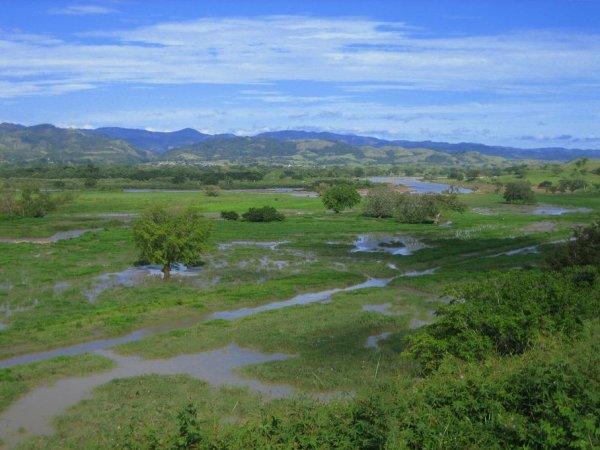 Trotz Trockenzeit schon Ueberschwemmungen