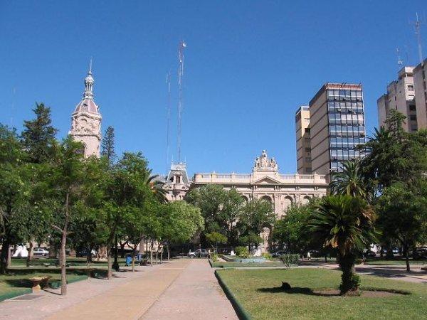 Plaza Central de Bahia Blanca