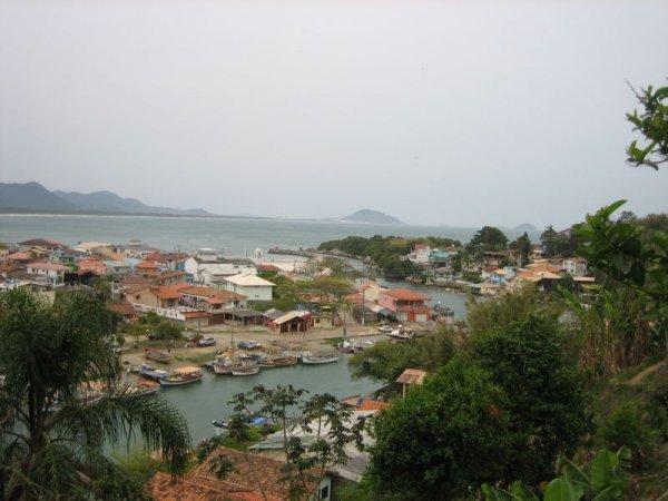 Barra da Lagoa von oben