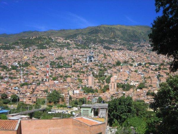 Medellin - Stadt mit Hanglage