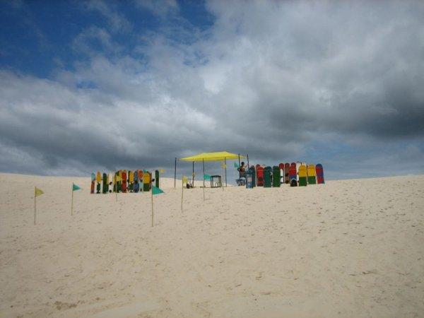 Lust auf Sandboarden?