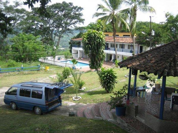 Campingplatz bei La Pintada ...