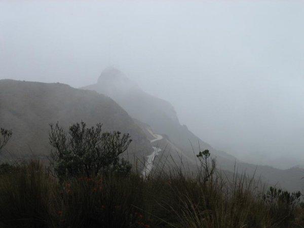 ... beim Vulkan Ruiz (ca.5150m!!)