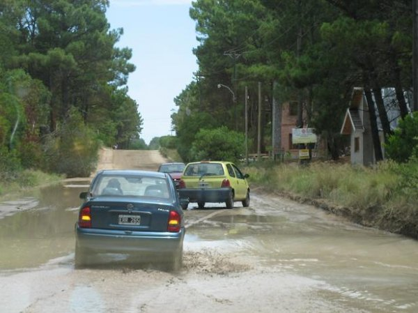 Buckelfahrt in Richtung Mar del Plata