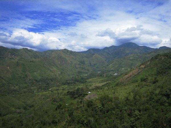 Blick ins Tierradentro