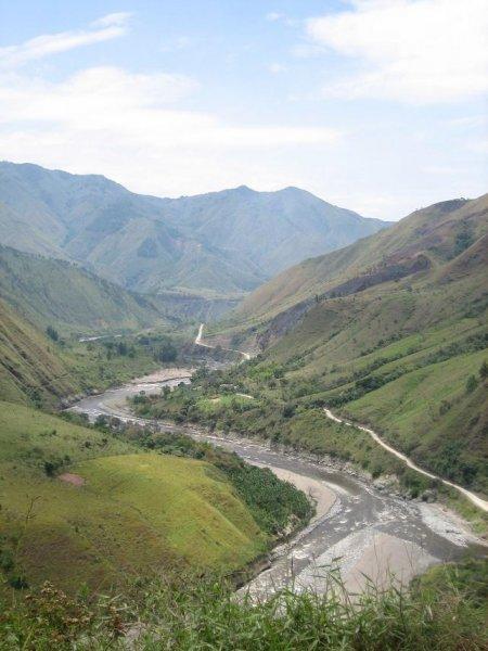 Von Tierradentro nach San Augustin - immer dem Fluss entlang