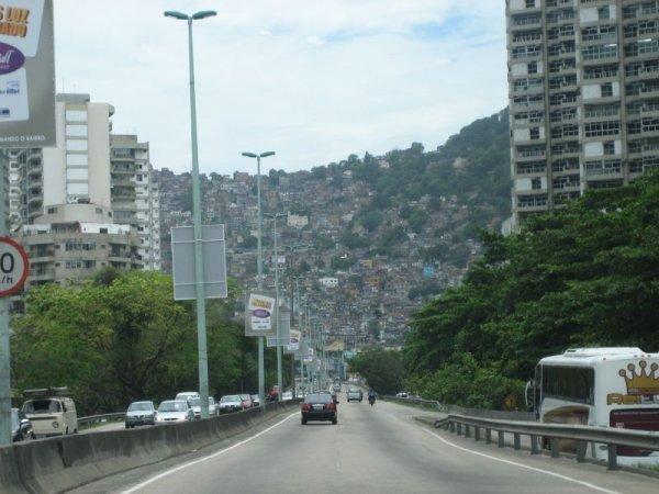 Fahrt nach Rio