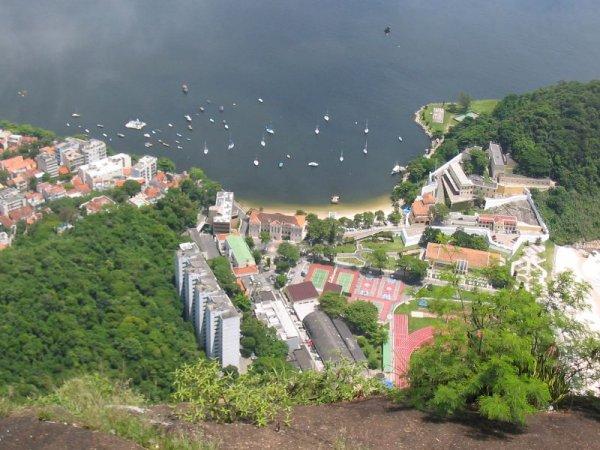 Dort unten wohnen nicht die Armen Rios!