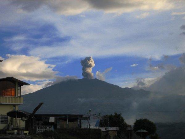 Vulkanausbruch bei Pasto ...