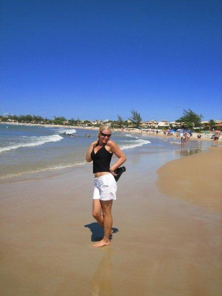 Am Strand, der durch Brigitte Bardot bekannt wurde!