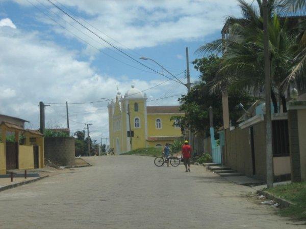 Typisch brasilianische Kirche