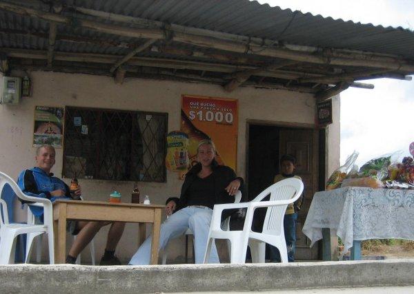 Abschiedsbier, DANKE Kolumbien