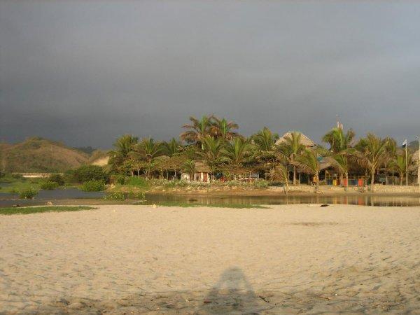 Camping Bambu, direkt an Meer und Lagune!