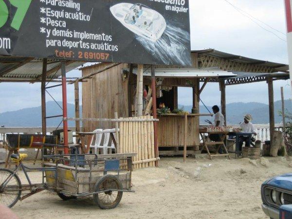 Einfaches Leben in Ecuador