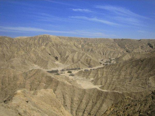 Eine der trockensten Gebiete der Erde, der Nordwesten von Peru