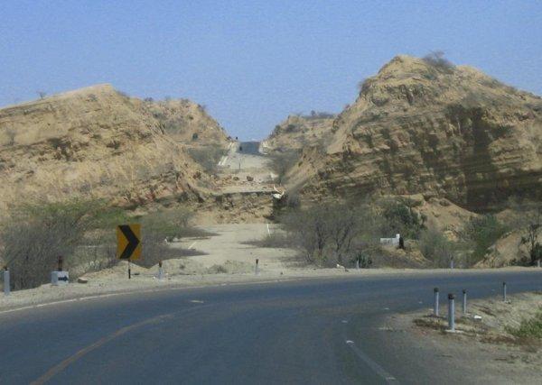 El Nino machte vor 10 Jahren den Norden Perus unpassierbar!