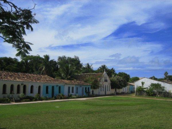 Centro Historico in Puerto Seguro ...