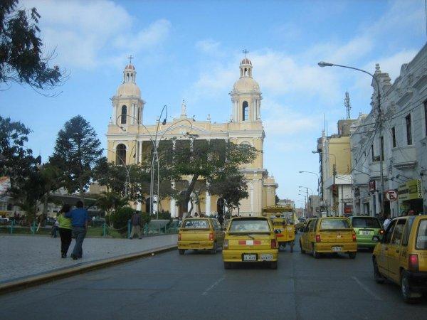 In der Stadt Chiclayo