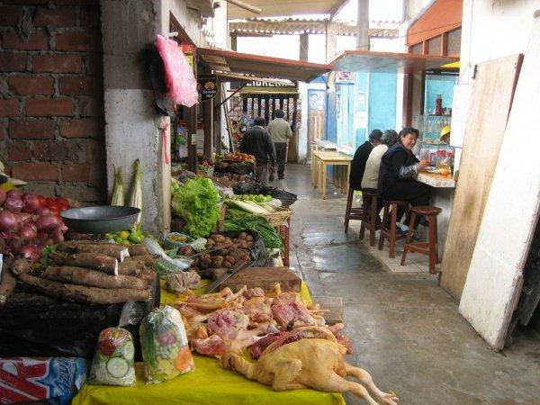 Die Markthalle von Huanchaco