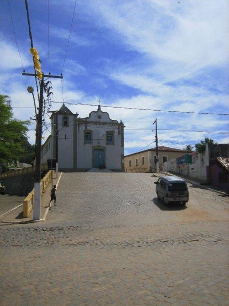 Prachtstrasse in Itacare