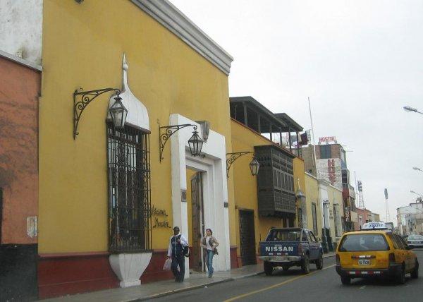 Die Stadt Trujillo im Norden Perus