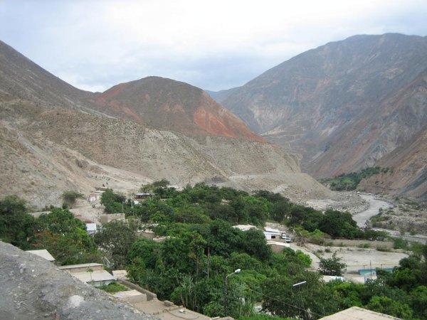Flussoase des Rio Santa