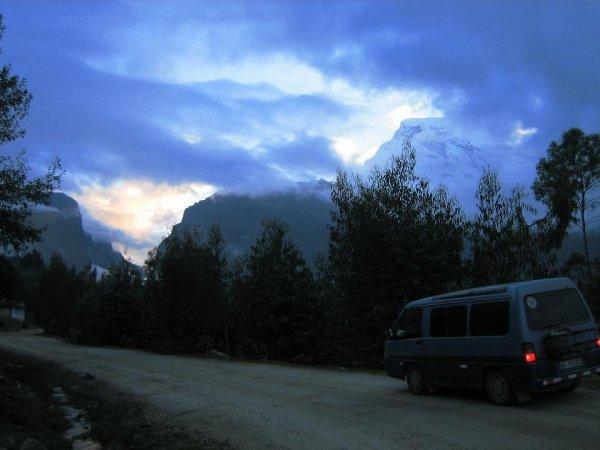 """Noch vor Sonnenaufgang gins in die """"Weissen Berge"""""""
