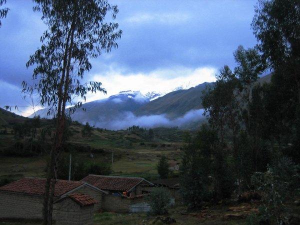 Hoch gehts in die Cordillera Blanca