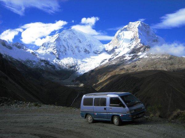 Nevado Huascaran - mit knapp 6800m der 2.hoechste Berg Amerikas