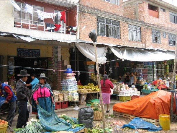 Samstag ist Markttag