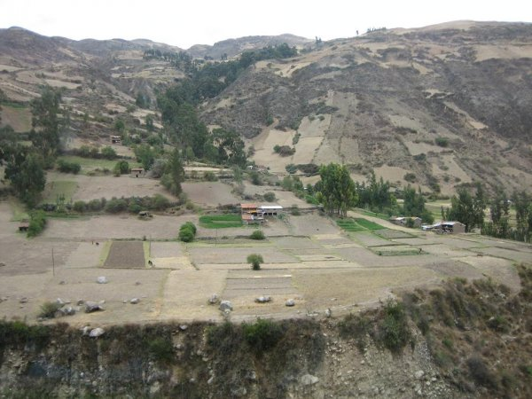 Trocken wie ueberall in Peru