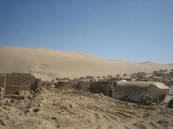 Nach dem Erdbeben in der Region um Pisco...