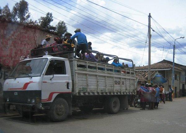 Wenn der Bus mal voll ist...