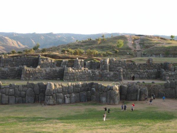 Die Ruinen von Saqsaywaman...