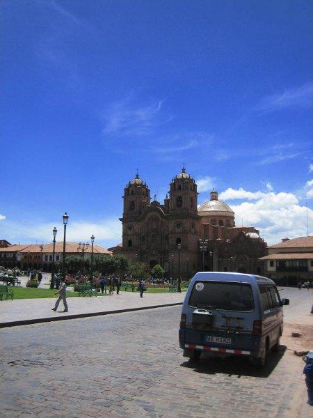 Abschied vom Plaza de Armas