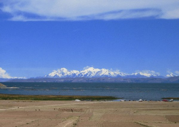 Vorgeschmack auf die Cordillera Real in Bolivien