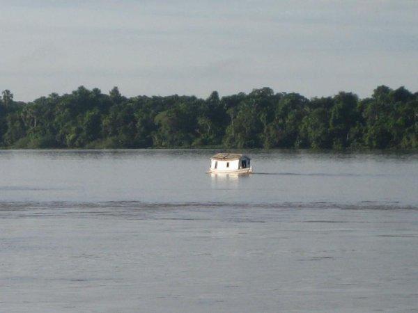 Ein wahres Hausboot!