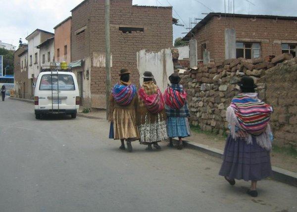 """Bolivianische """"Mamas"""""""