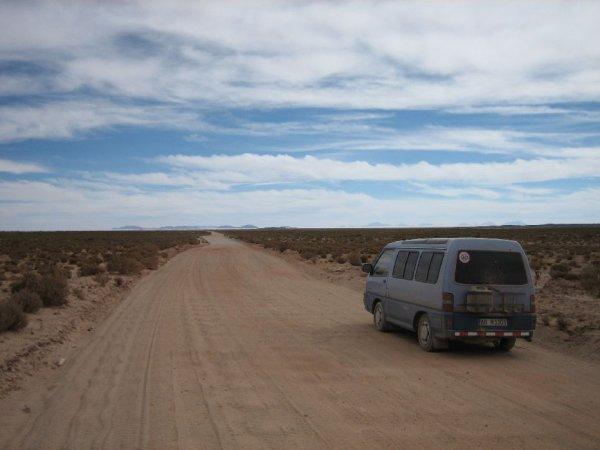 Auf dem Weg zum Salar