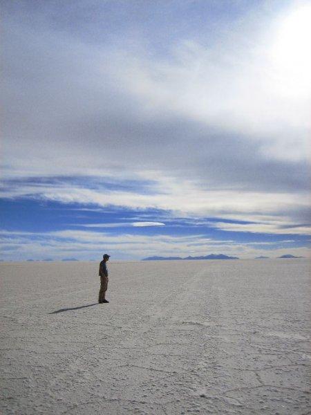 ... ca. 3650m hoechsten Salzsee der Welt!