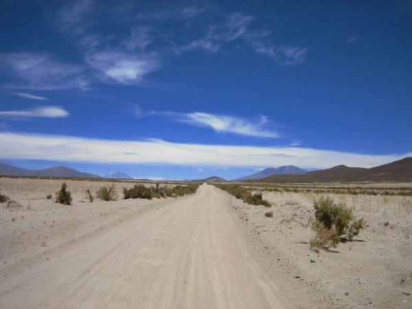 ... Traumpisten im bolivianischen Altiplano!