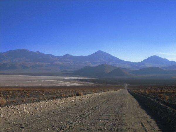 Ein Teil der Atacamawueste