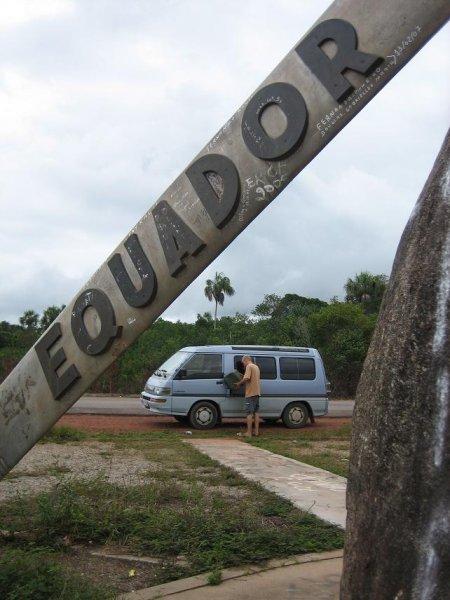Nachtanken am Aequator