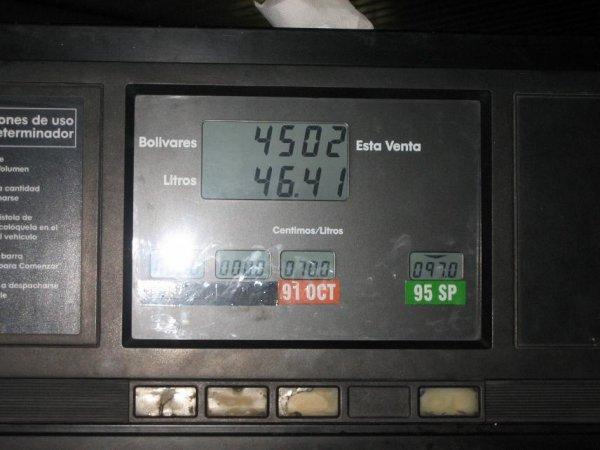 4500 Bolivar = 1 Euro = Wahnsinn!