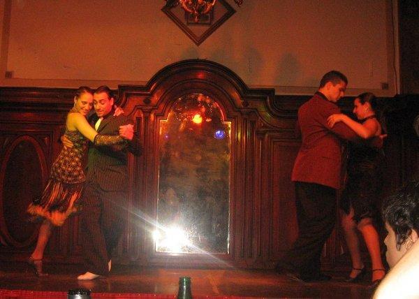 Der Tangoabend von Melli und Katja in Bs As!