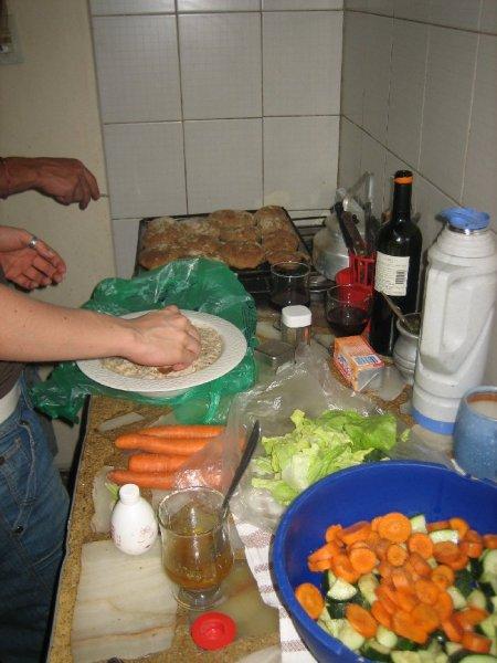 Katja und kochen, wow, wir lieben es!