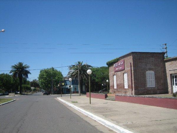 Die Bahnhofsnaehe von Trenque Lauquen